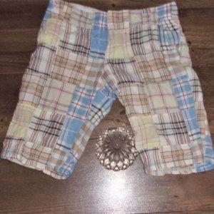 AEO womens size 8 plaid shorts short summer pants